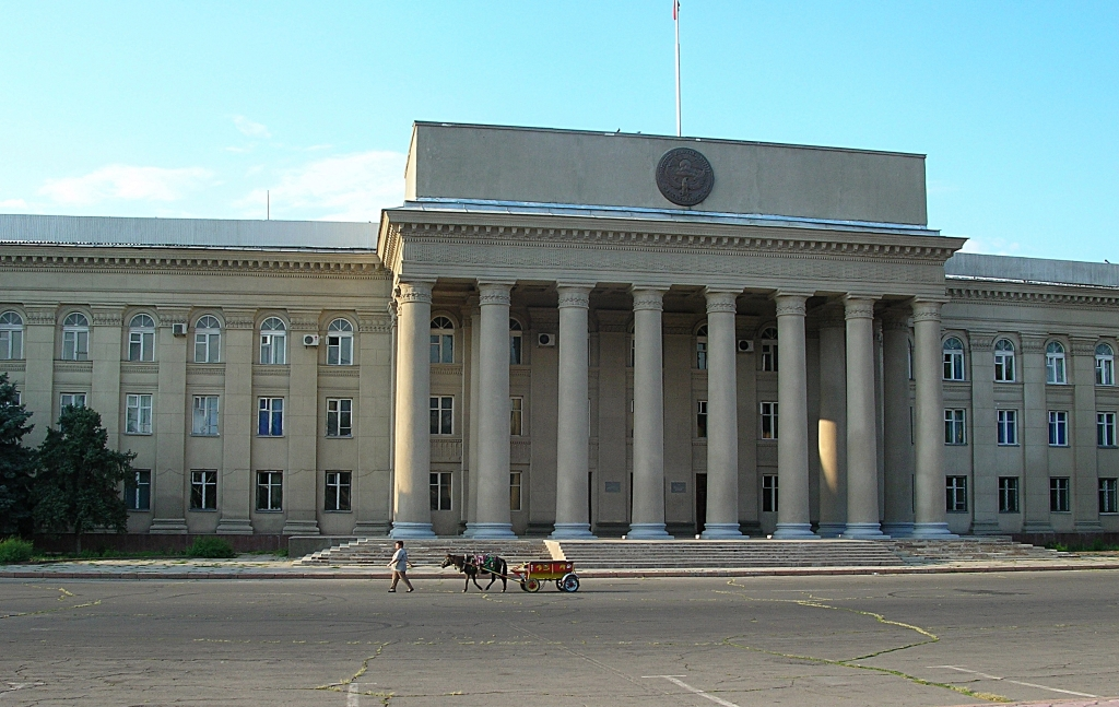 Parliament Building in Bishkek