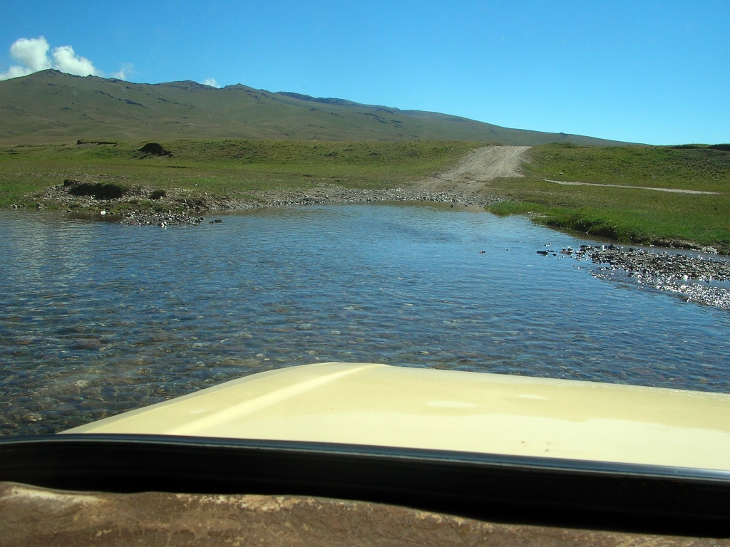 On our way to Song Kul