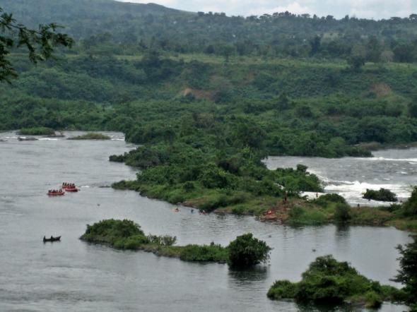 river rafting Uganda