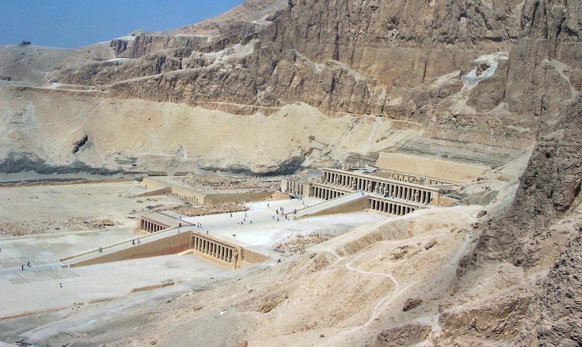 Queen Hatshepsuts Temple, Egypt