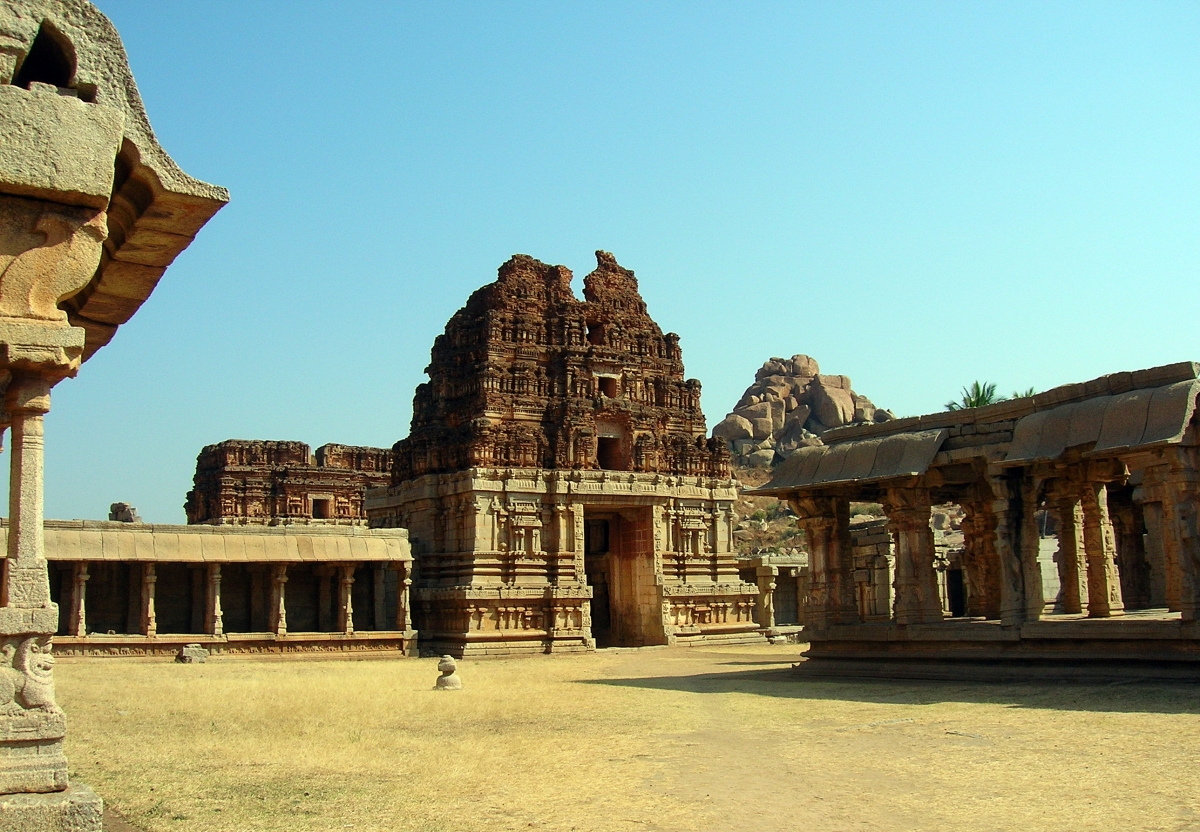 Ruins of Vijayanagara, Hampi India (2)