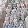 Terracota warriors, Xian, China