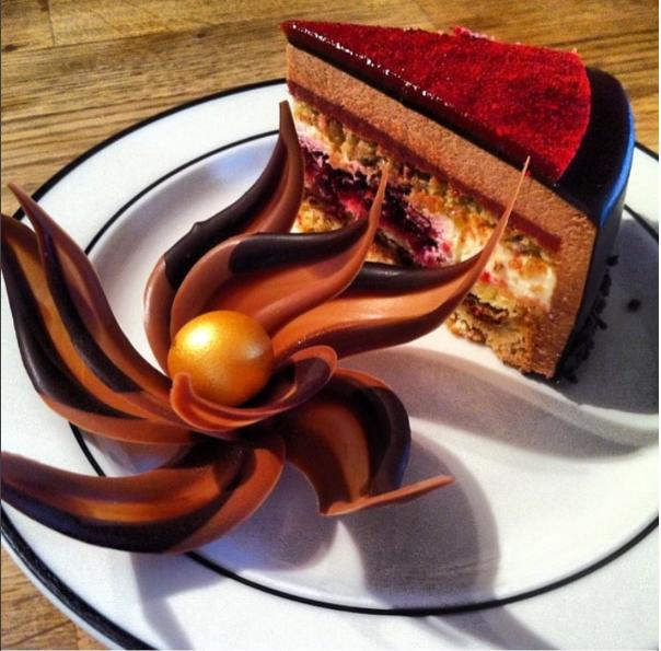 Prize winning cake, Netherlands
