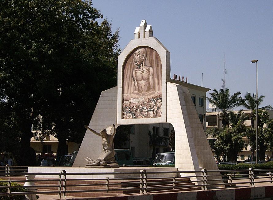 Le Monument des Martyrs à Bamako